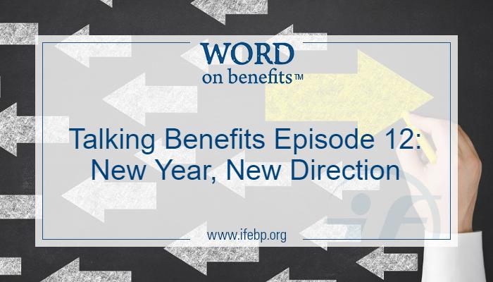 Word on Benefits - International Foundation Blog