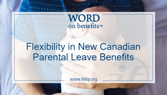 Flexibility in New Canadian Parental Leave Benefits