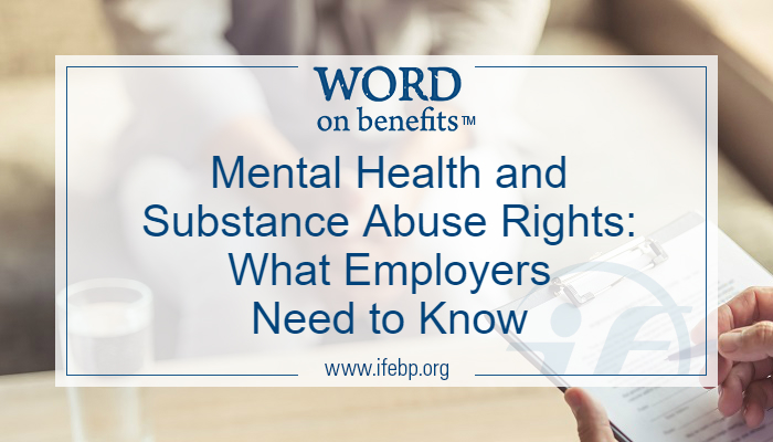 Mental Health and Substance Abuse Rights: What Employers Need to Know