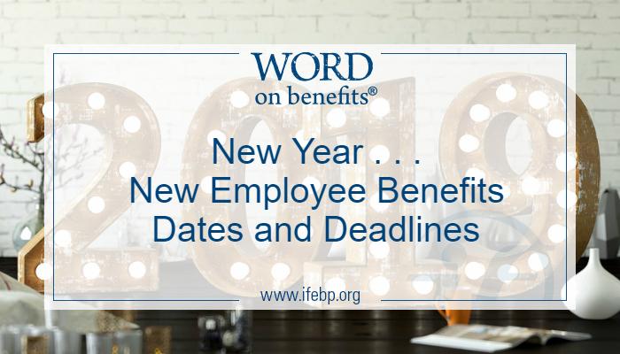Employee Benefits Reporting & Disclosure Calendars