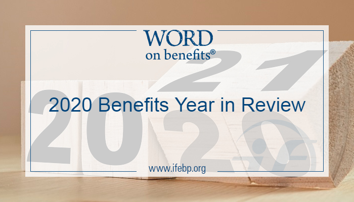 2020 Benefits Year in Review