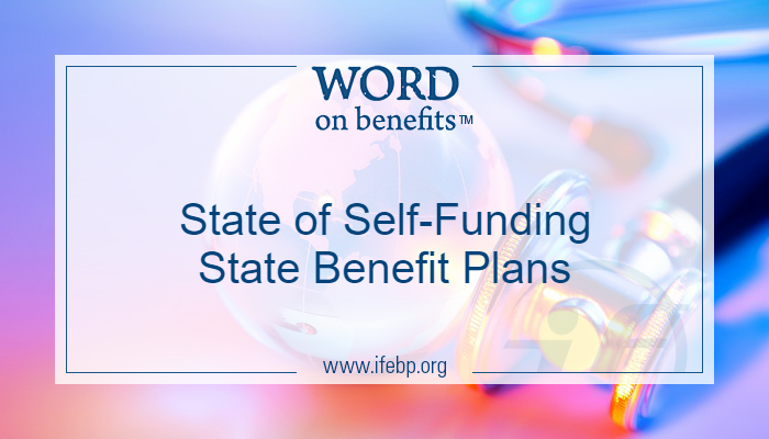 State of Self-Funding State Benefit Plans