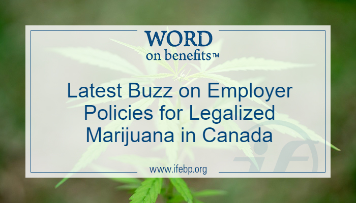 Latest Buzz on Employer Policies for Legalized Marijuana in Canada