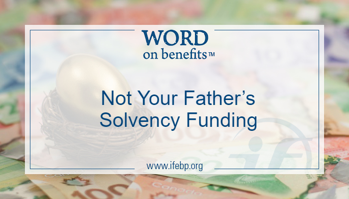 Not Your Father's Solvency Funding
