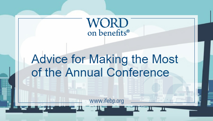 Advice for Making the Most of the Annual Conference