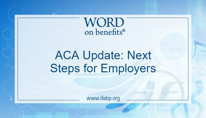 ACA update for employers