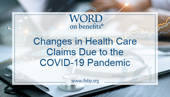 Changes in Health Care Claims due to the COVID-19 Pandemic