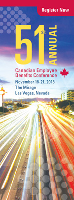 Canadian Employee Benefits Conference, November 2018