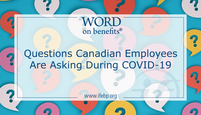 Questions Canadian Employees Are Asking During COVID-19