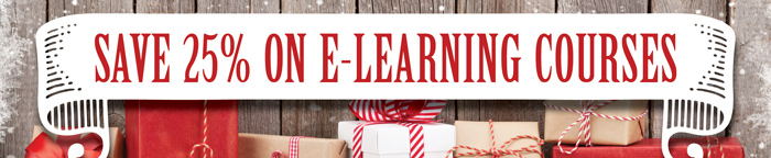 Save 25% on E-Learning Courses