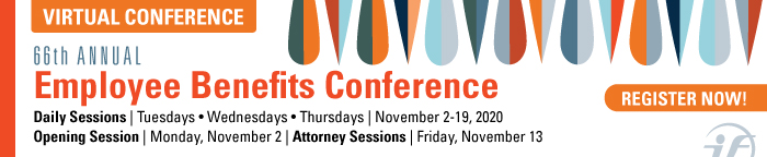 66th Annual Employee Benefits Conference Virtual Conference