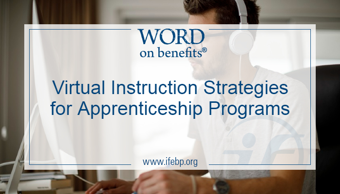 Virtual Instruction Strategies for Apprenticeship Programs