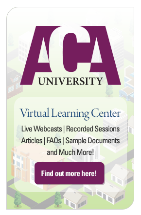 ACA University - Virtual Learning Center