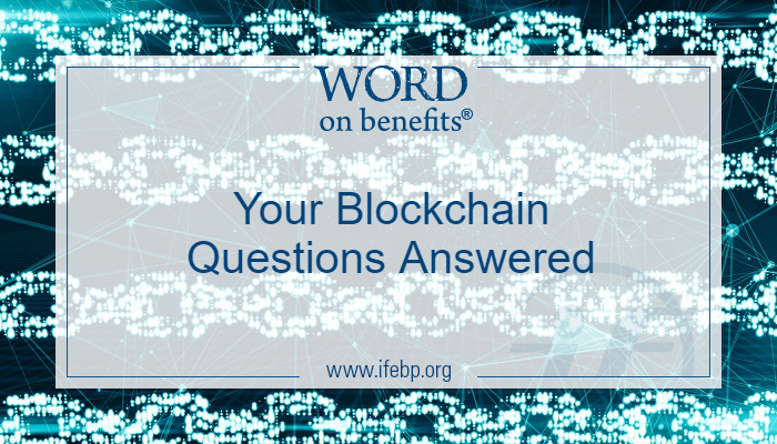 Your Blockchain Questions Answered