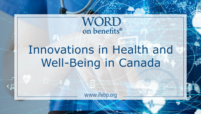 Innovations in Health and Well-Being in Canada