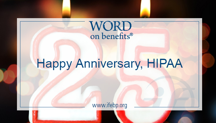 Happy Anniversary, HIPAA