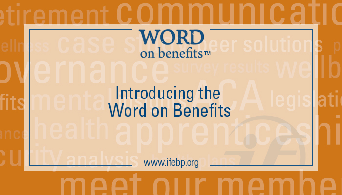 Introducing the Word on Benefits