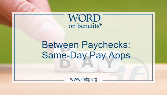 Between Paychecks: Same-Day Pay Apps