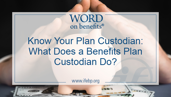 Know Your Plan Custodian: What Does a Benefits Plan Custodian Do?