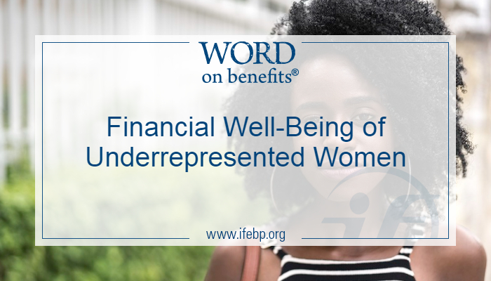 Financial Well-Being of Underrepresented Women